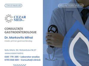 Dr. Markovits Mihai - medic primar gastroenterolog Cezar med Satu Mare