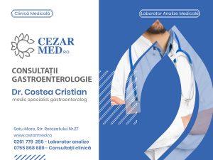 Dr. Costea Cristian - medic specialist gastroenterolog Satu Mare Cezar Med